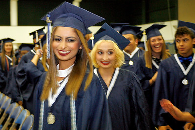 West Boca Raton High School graduation at The South Florida Fairgrounds on Thursday, May 18, 2017  Photo by Tim Stepien