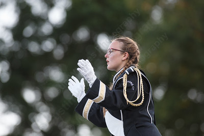"""Sheehan High School Marching Bands performs their program called """"Imagine"""" Saturday during the USbands Halftime all the Time Show at Falcon Field in Meriden September 15, 2018   Justin Weekes / Special to the Record-Journal"""