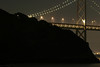 Picture 8 of  8 (panorama). San Francisco Bay Front (San Francisco-Oakland Bay bridge).<br><hr> Panorama (vue 8/8) Le pont San Francisco-Oakland.