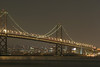 Picture 6 of  8 (panorama). San Francisco Bay Front (San Francisco-Oakland Bay bridge).<br><hr> Panorama (vue 6/8) Le pont San Francisco-Oakland.