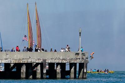 9/16/18 12:00:44 PM- Hikianalia: The Alahula Kai O Maleka California Voyage at Aquatic Park in San Francisco, CA  All rights reserved. Photograph by Chris M. Leung 2018 for the Polynesian Voyaging Society