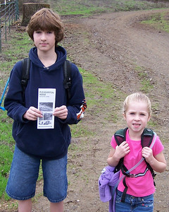 2005-12-24 Hike at Pleasanton Ridge