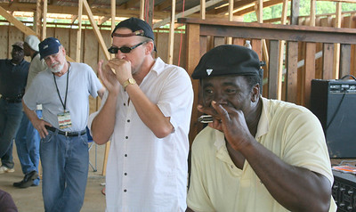 "Billy Gibson and Terry ""Harmonica"" Bean"