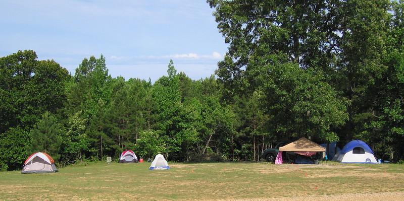 HCH II, Saturday 5/21: Campsites