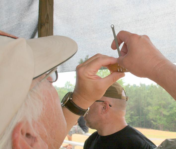 HCH II, Sunday 5/22: Harvey adjusts a reed