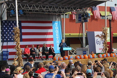 Hillary Clinton rally at NewBo Oct. 28