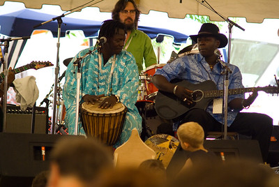 Gourds and Guitars workshop - Jah Youssouf and Vieux Farka Toure