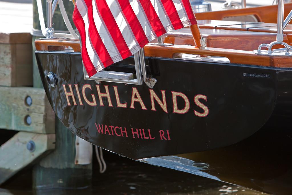HIGHLANDS (hull # 203, 1991), Watch Hill, Rhode Island.
