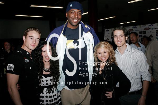 "G-Girlz, Daniel Samonas ""Actor"", John Salley, Brando Eaton ""Actor"""