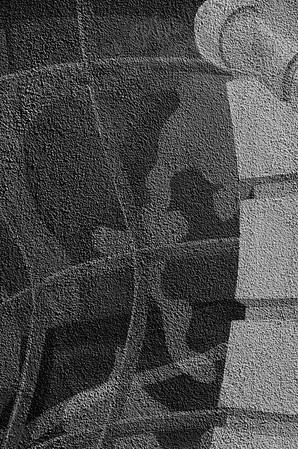 Painted wall spy  B&W  Mesa 3212