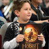 """Joshua Freese, 9, won a book for his knowledge of Hobbits.<br /> The Grey Havens Group celebrated a Hobbit Holiday at the  Longmont Public Library on Sunday with readings, games and activities.<br /> For a video and photos of the Hobbit Holiday, go to  <a href=""""http://www.timescall.com"""">http://www.timescall.com</a>.<br /> Cliff Grassmick  / December 9, 2012"""