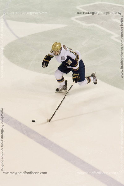 Michael Voran on a breakaway