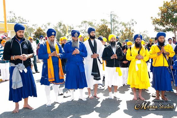 Hola Mahalla Sikh Gurdwara San Jose 2012