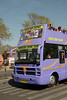 Tourists to Jaipur Pink City were taken free of cost for an hour long ride on an open top bus through the key locations of the city to see the celebrations. <br /> <br /> Holi the Festival of Colours being celebrated in Jaipur, the Capital city of Rajasthan, India.