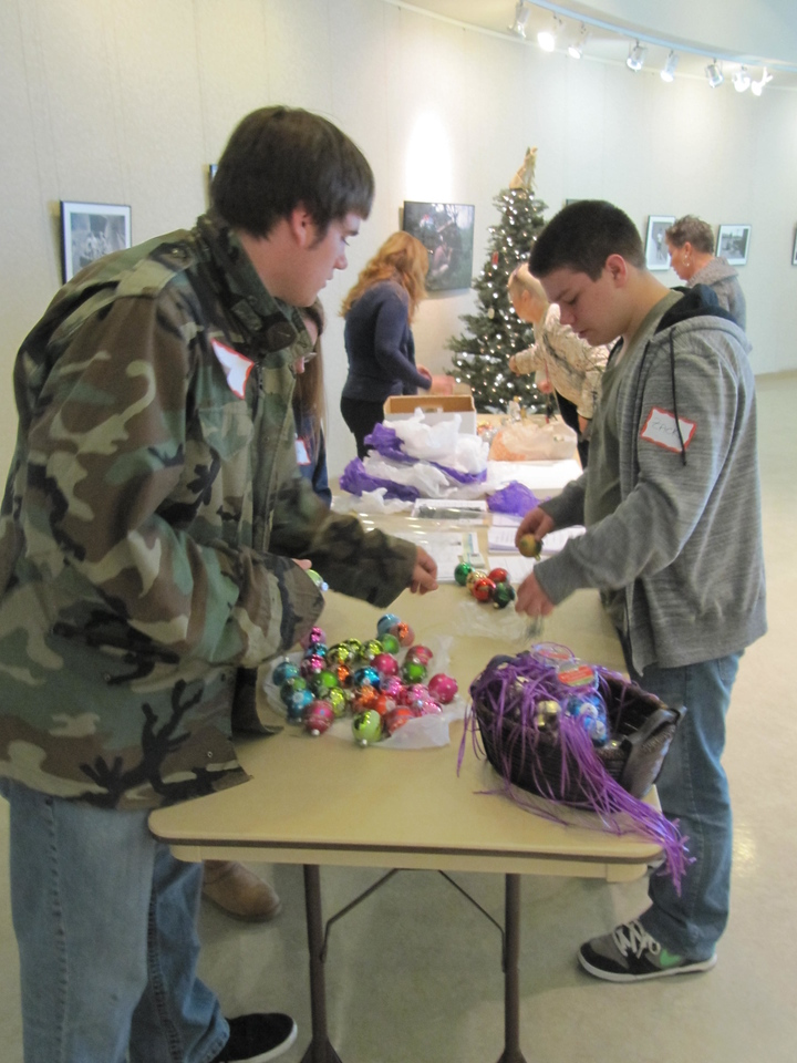 Christmas balls for each Sandy Hook Victim