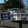 Arody and Hamzah carried the Albertson's banner.