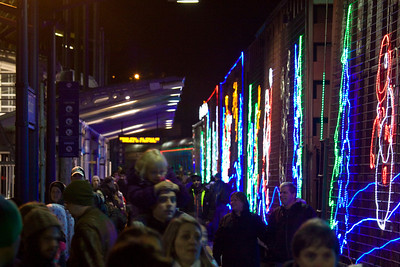 CP Rail Holiday Train comes to Port Coquitlam