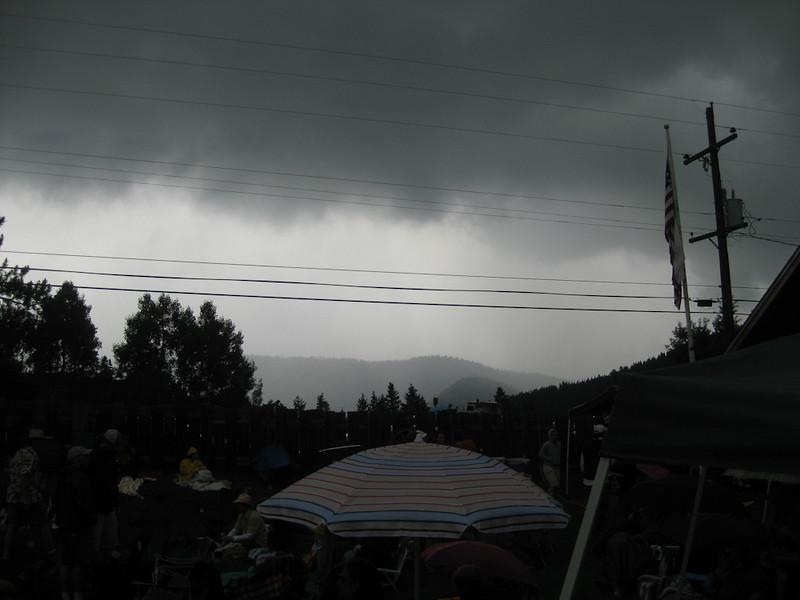 Fourth of July Twang @ Gold Hill Inn. and raining
