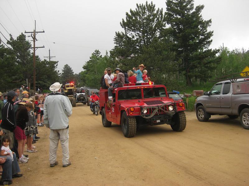 Gold Hill Parade, Colorado, July 4th, 2009