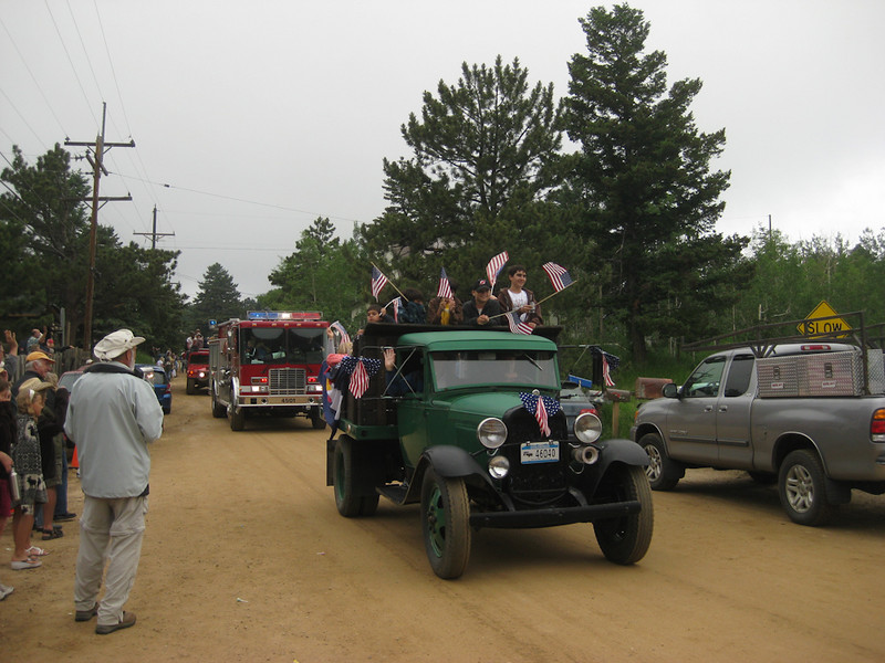 Gold Hill Parade, Colorado, July 4th, 2009