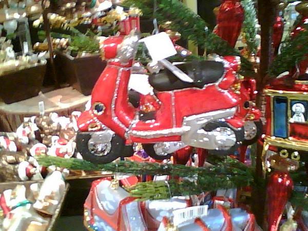 scooter ornament, GUMPS, San Franciscop