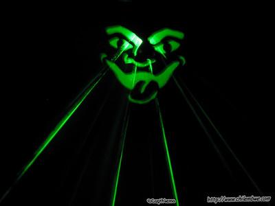 Tom's Laser Jack o lantern