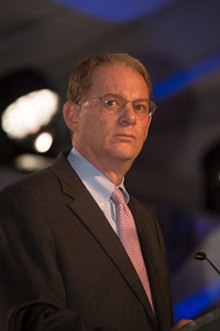 Tom A. Bernstein was appointed chairman of the United States Holocaust Memorial Council by President Obama in September 2010, here addressing the National Tribute Dinner on April 28.