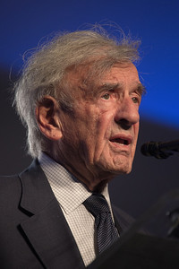 Elie Wiesel addresses the National Tribute Dinner