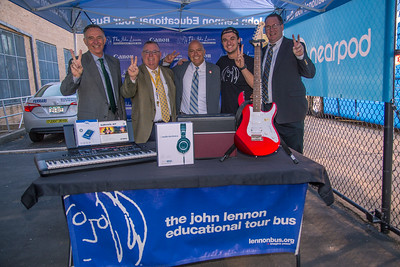 2017_10_02, Jimmy Convoy, Flushing, Giveaway, Holy Cross High School, Luke Huisman, Mike Truesdell, NY, Paul Vallone, Terry Tarpey