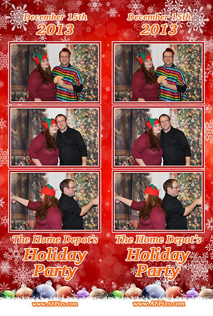 Home Depot Holiday Party 2013