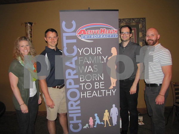 Emily Wolfe, Dr. Josh Mason, Dr. Jordan Hagar, and Dr. Josh Mason all of Active Health Chiropractic hosted the Ladies Event to benefit D/SAOC.