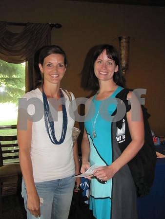 Heidi Rial and Andrea DeJong