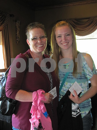Mother and daughter, Chris Lennon and Samantha Lennon were out to enjoy an evening catering to the ladies.