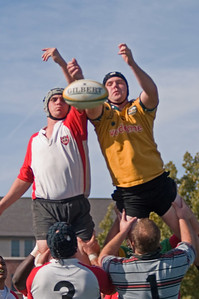 Lineout battle