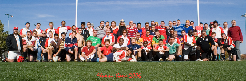 Homecoming 2006 - Alumni Rugby Game