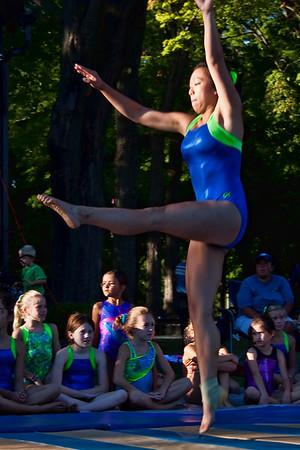 Homecoming 2010 Gymnastics