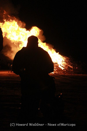 Homecoming Bonfire and Alumni 10-21-2015