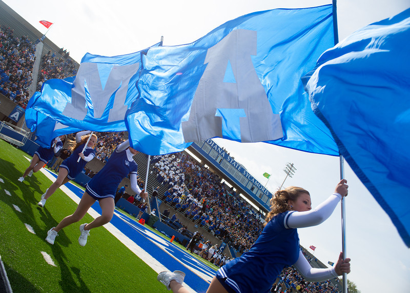 Images from Homecoming victory over Missouri State in 2012