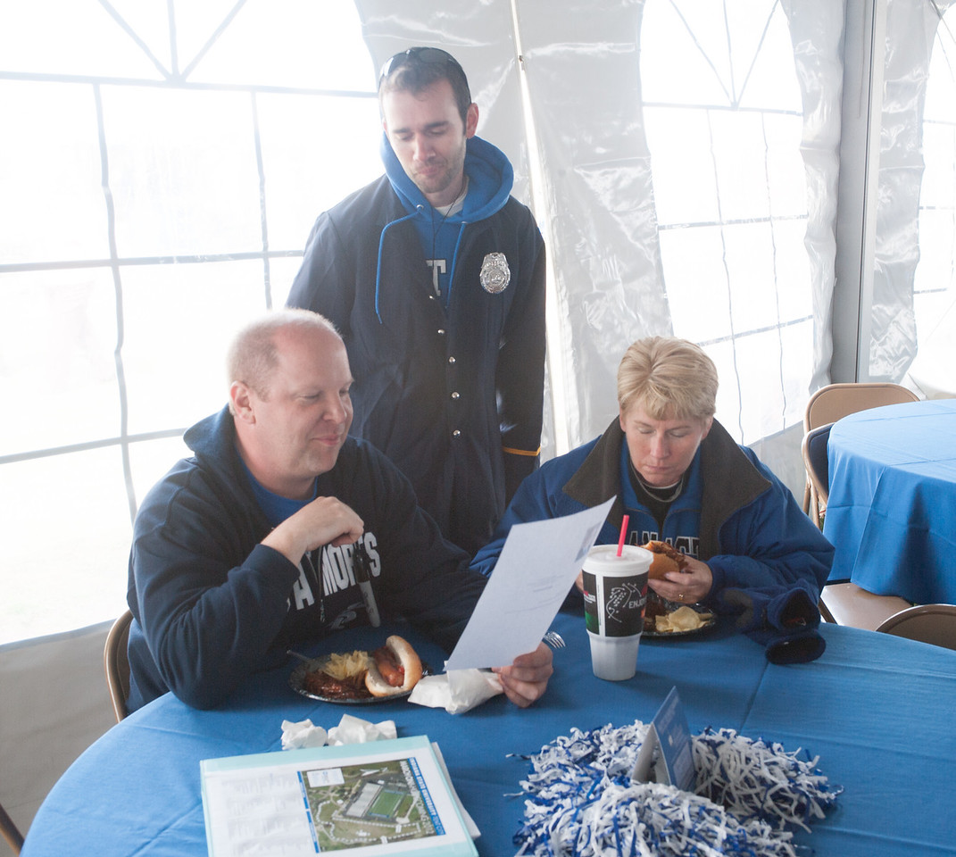 Homecoming 2012 tent city activities