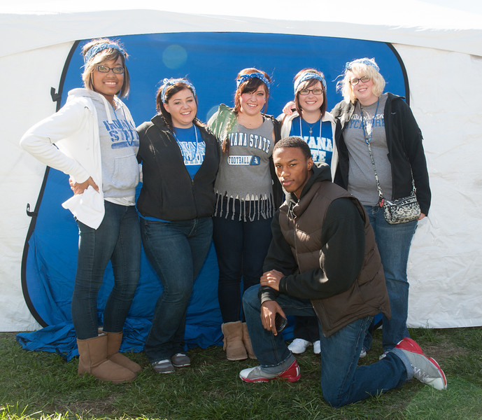 Homecoming 2012 tent city activities