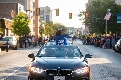 Homecoming parade