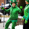 Irish Pride. Clair Hunt, of Cambridge NY dances an irish jig on Saturday afternoon during the St. Patrick's Day parade held on Main St. in Hoosick. Holly Pelczynski/Bennington Banner/photos.benningtonbanner.com