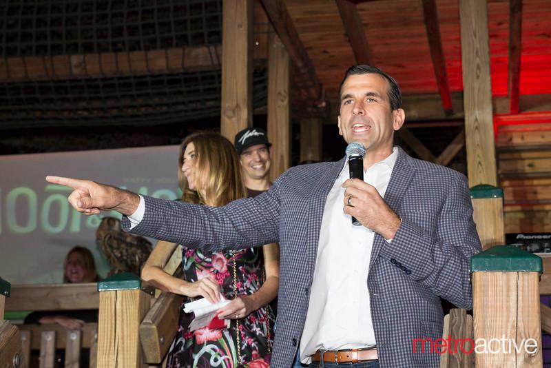 Mayor Sam Licciardo speaking during the annual Howl ceremony