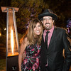 Organizer Heather Lerner and Magician Jay Alexander