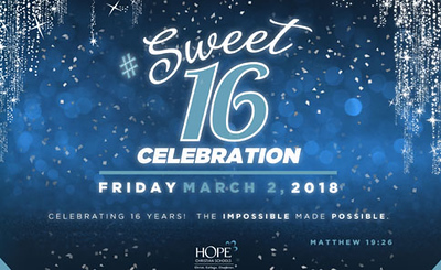 Hope Sweet 16