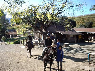 Horseback riding at Garrod Farms