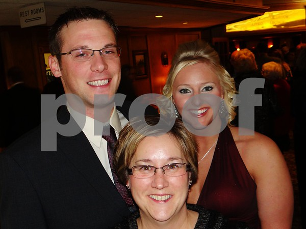 Lucas Abel, Deb Cook, and Jen Cook.