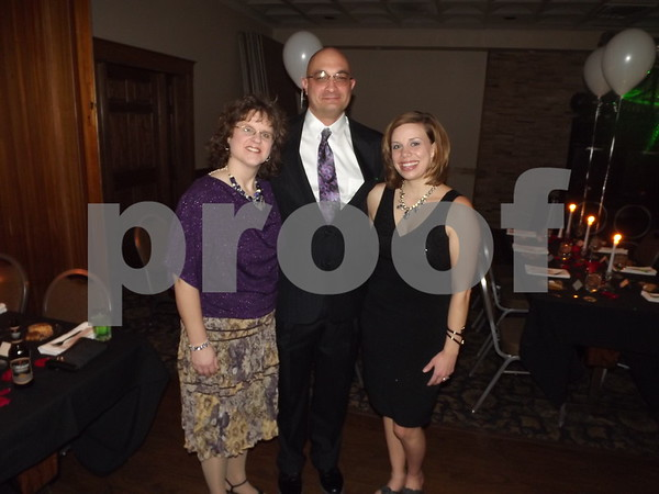 Cindy and Joel Goodell and Molly Baker.