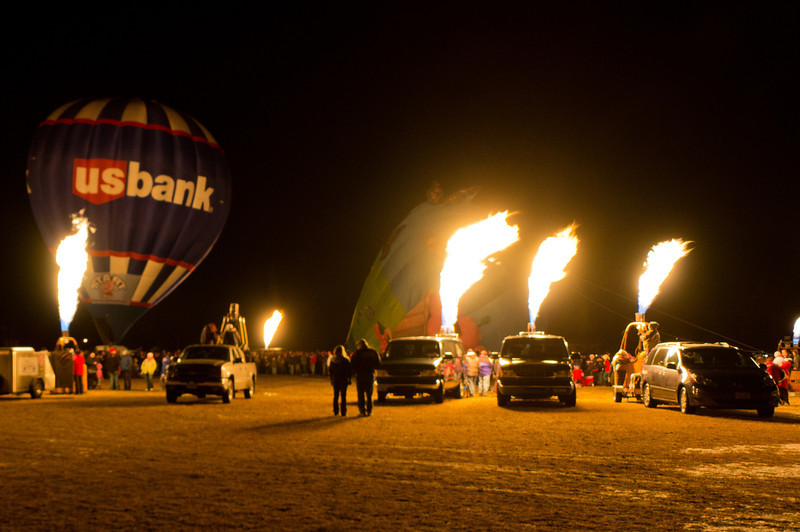 Hot Air Affair 2012 - Field of Fire