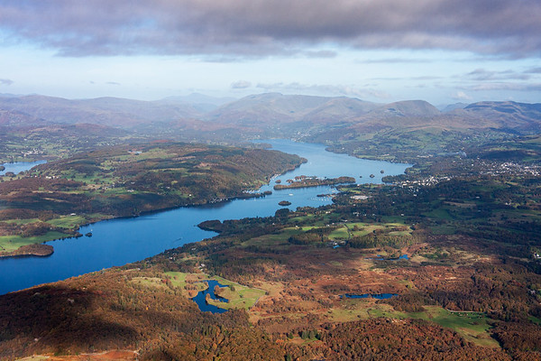 Windermere from the Balloon